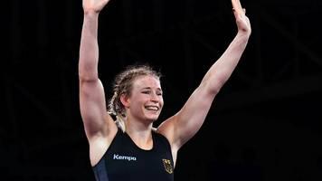 Olympia 2021   Historische Medaille sicher: Ringerin kämpft um Gold