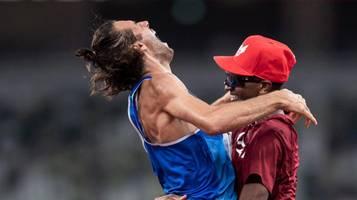 Tokio 2021: Hochspringer Tamberi und Barshim teilen sich Olympia-Gold