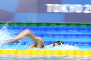 Erste deutsche Schwimmer-Medaille seit 21 Jahren: Florian Wellbrock holt Bronze