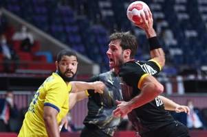 Glanzloser Sieg gegen Brasilien: Handballer im Viertelfinale