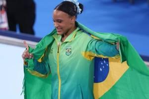 Nach Biles-Verzicht: Brasilianerin Andrade holt Sprung-Gold