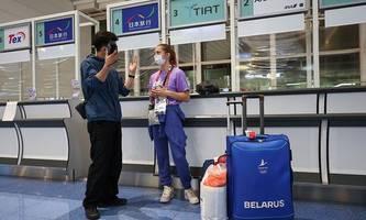belarussin timanowskaja sollte gegen willen von olympischen spielen heimfliegen