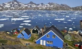 grönländischer eisschild schmilzt derzeit massiv