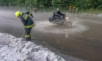 Unwetter in Österreich sorgen für Überschwemmungen und Murenabgänge