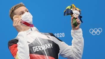 Schwimmen in Tokio - Nach Wellbrocks Bronze-Coup meldet sich sofort Weltrekordler Biedermann zu Wort