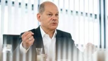 Scholz offen für obligatorische Elementarschadenversicherung