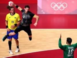 Olympia: Deutsche Handballer bestehen die Abschlussprüfung