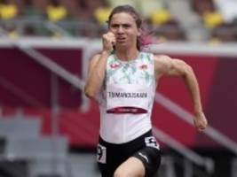 Olympische Spiele: Belarussische Läuferin ist sicher und geschützt
