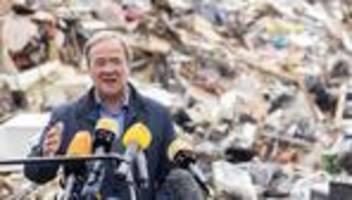 Flutkatastrophe: Armin Laschet verspricht schnelle Hilfe für Hochwasserschäden