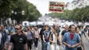 Proteste gegen Corona-Maßnahmen: Weitere Demonstrationen in Berlin untersagt