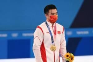 Olympia: Doppelsieg für Chinas Turner an den Ringen