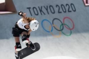 Olympia: Skateboard-Teenager Stoephasius: Von Filou bis Do it