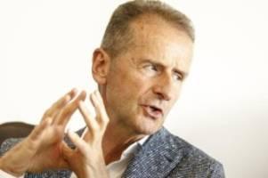 Autoindustrie: VW-Chef: Marken jetzt gut zugeordnet