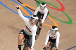 Olympia: Bahnrad-Vierer der Frauen fährt Weltrekord