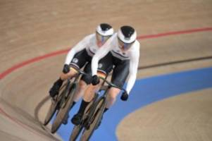 Olympia: Bahnrad-Duo Friedrich/Hinze vorn - Vierer mit Weltrekord