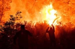 Hitzewelle: Brände in Türkei und Griechenland – Sorge vor Stromausfällen