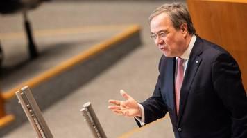 Hochwasserkatastrophe: Laschet will Sondersitzungen des NRW-Landtags zur Flutkatastrophe