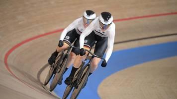 Olympia: Bahnrad-Duo Friedrich/Hinze gewinnt Silber im Teamsprint