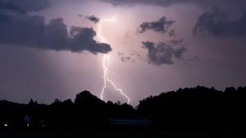Woche in Rheinland-Pfalz und Saarland startet mit Gewittern