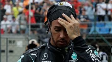 Formel 1: Erschöpfter Superstar Hamilton fürchtet Covid-Folgen