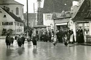 Hochwasser-Katastrophe: Als der Lech 1910 Augsburg flutete