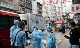 Lockdown in Teilen Chinas wegen großen Infektionsherd