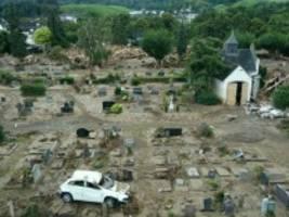 Hochwasser-Katastrophe: Wohin mit den Toten?