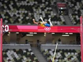 Olympia in Bildern: Schnelle Zeiten und luftige Höhen
