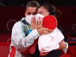 Mihambo-Gold, Tischtennis-Freude: Das war die Olympia-Nacht zu Dienstag