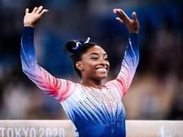 Nach Mentaldrama bei Olympia: Superstar Biles befreit sich mit Bronze