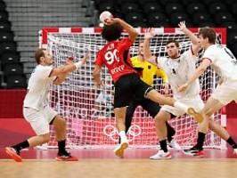 Träume enden mit Klatsche: Handball-Männer erleben bitteres Olympia-Ende