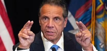 new york: bericht wirft gouverneur andrew cuomo sexuelle Übergriffe vor