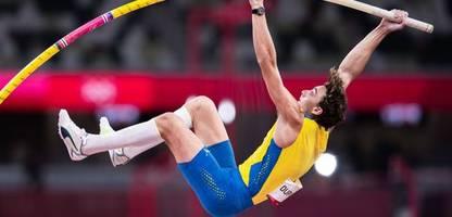 Olympia 2021: Armand Duplantis springt zu Gold – und scheitert nur knapp an neuem Weltrekord