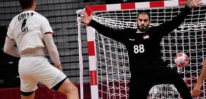 Olympia 2021 in Tokio: Deutschlands Handballer verzweifeln an Ägyptens Torwart