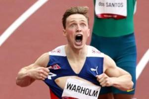 Olympia: Fabelweltrekord von Warholm über 400 Meter Hürden