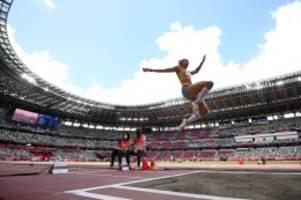 olympische spiele: weitsprung: malaika mihambo holt gold für deutschland
