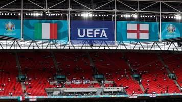 EM-Finale: UEFA eröffnet Disziplinarverfahren gegen Englands Verband