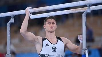 Olympia 2021: Lukas Dauser gewinnt Silber am Barren