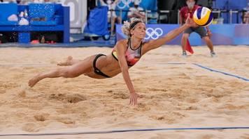 Olympia: Viertelfinal-Aus für Beachvolleyballerinnen Ludwig/Kozuch