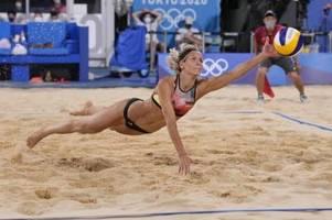 Viertelfinal-Aus für Beachvolleyballerinnen Ludwig/Kozuch