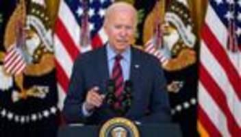 Joe Biden: Ich denke, Andrew Cuomo sollte zurücktreten