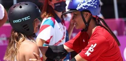 Olympia 2021 - Sky Brown gewinnt Bronze: Super-beste Skateboard-Freundinnen