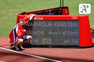 Karsten Warholm und andere: Leichtathletik bei Olympia: Die Inflation der Weltrekorde