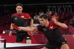Olympia: Sind noch nicht fertig: Tischtennis-Männer spielen um Gold