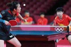 Olympia: Tischtennis-Frauen verlieren Halbfinale - Chance auf Bronze