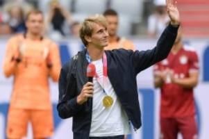 Olympiaheld: HSV-Fan Zverev sonnt sich im Glanz des FC Bayern München