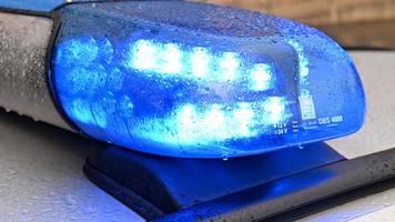 Betrunken auf der A 30: Fahrzeug blockiert Fahrstreifen