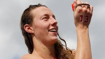 Olympia: Freiwasserschwimmerin Beck stolz auf fünften Platz