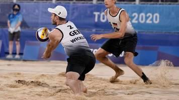Olympia: Beachvolleyballer Thole/Wickler verpassen Halbfinale