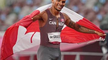 Olympische Spiele: Gold über 200 Meter für Kanadas Topsprinter De Grasse